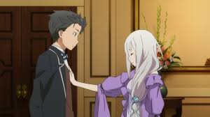 subaru and emilia photo collection emilia rezero subaru