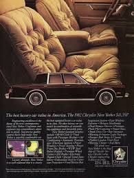 1982 chrysler new yorker cars plymouth and mopar