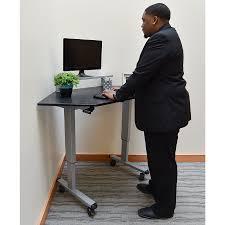 Stand Up Corner Desk Burbank Modern Stand Up Corner Desk Eurway Furniture