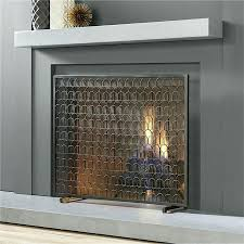 image contemporary fireplace screens decorations glass modern fire