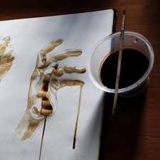 hand sketches made in coffee by sidesize on deviantart