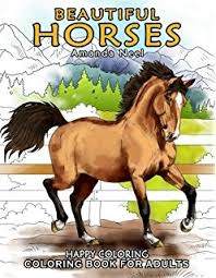 dover publications wonderful horses coloring book dover
