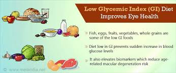 switch to a low glycemic diet stop age related eye disease