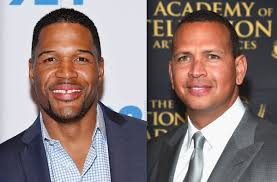 michael strahan new haircut michael strahan not upset about alex rodriguez joining gma