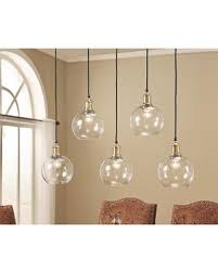 Edison Pendant Light Get The Deal Abbyson Edison Glass 5 Light Pendant Light Edison