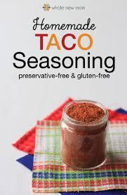 homemade taco seasoning recipe taco seasoning