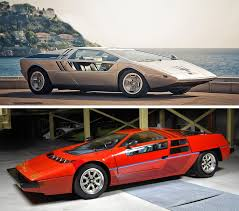 concept car of the futuristic concept cars from the 70s and 80s visions from a retro