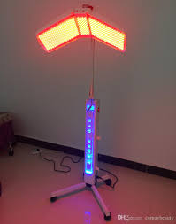 professional led light therapy machine new arrival 120mw high power floor standing professional led pdt bio
