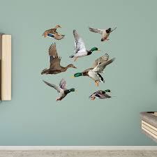 ducks wall decal shop fathead for general animal graphics decor ducks fathead wall decal