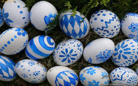 blue easter eggs easter eggs wallpapers frankenstein