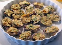 cuisiner des palourdes palourdes farcies et gratinées recettes cuisine française