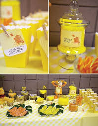winnie the pooh baby shower decorations winnie the pooh baby shower centerpieces baby shower ideas gallery