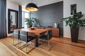 black dining room 20 beautiful dining rooms with black accent walls home design lover