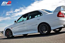 mitsubishi lancer evo 3 initial d initial d world