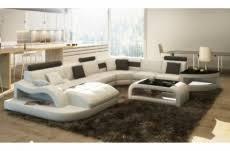canape 8 places canapé d angle en cuir italien 8 places nordik gris foncé et blanc