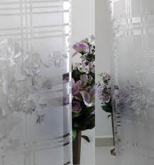 buy verre static decorative frosted window glass film ml028