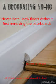 Laminate Flooring T Molding Home Tips Baseboard For Laminate Flooring How To Remove