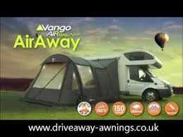 Fiamma Awnings For Motorhomes Vango Airaway Driveaway Awning Www Driveaway Awnings Co Uk Youtube