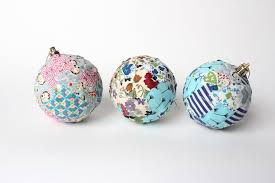 liberty fabric baubles wolves in