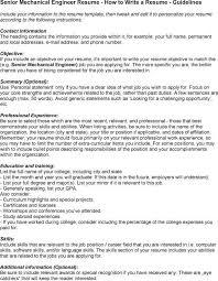 Career Objective For Resume Mechanical Engineer Career Objective Sample Mechanical Engineering