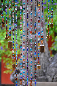 home decor hanging beads beaded door curtains ikea how to make crystal at home bath and