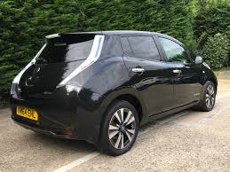 car nissan black nissan leaf tekna black electric u0026 hybrid car specialists