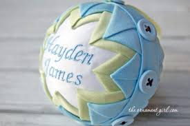 Soccer Ornaments To Personalize A Baby U0027s First Christmas Ornament Idea U2013 The Ornament