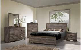 King Bedroom Sets Furniture Asheville Driftwood King Bedroom Set My Furniture Place