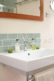bathroom splashback ideas downstairs loo sink raised floor with small splash back