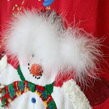 snowman needs a haircut tacky ugly christmas sweater the ugly