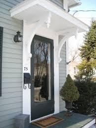 Black Front Door Ideas Pictures Remodel And Decor by Best 25 Front Door Overhang Ideas On Pinterest Front Door