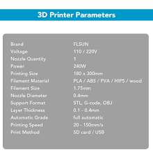 flsun fl k base delta 3d printer kit us plug 175 99 online