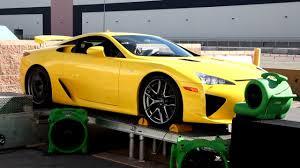 lexus yellow sports car yellow lexus lfa extreme sound and acceleration youtube