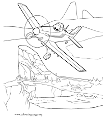 planes dusty single propeller plane coloring