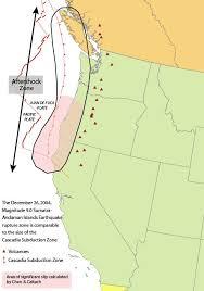 physical map of oregon juan de fuca plate cascadia subduction zone usgs where to move