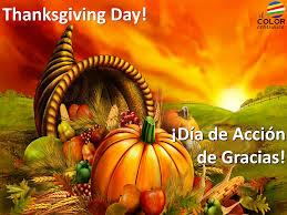 feliz día de acción de gracias tarjetas para