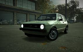 green volkswagen golf image carrelease volkswagen golf mk1 gti green jpg nfs world