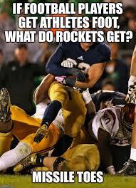 Football Player Meme - photogenic college football player memes imgflip