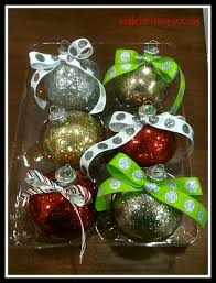 glitter on the inside ornaments ornament ornament box and