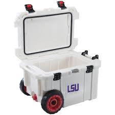 Lsu Area Rugs Pelican 45 Qt Louisiana State University Tigers Elite Wheeled