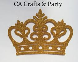 Royal Crown Centerpieces by Prince Crown Etsy