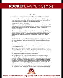 online privacy policy template create your website privacy policy
