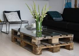 glass table for living room 22 upcycling pallet table ideas for your garden or living room