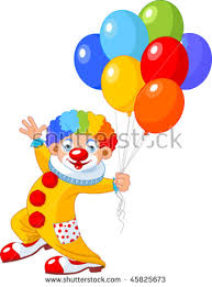 clown baloons clown balloon stock images royalty free images vectors