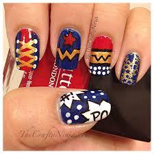 wonder woman nails the crafty ninja