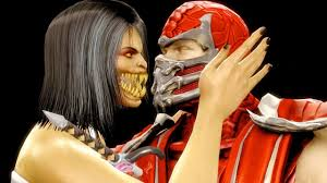 Scorpion Halloween Costume Mortal Kombat 9 Fatalities U0026 Rays Red Scorpion Costume