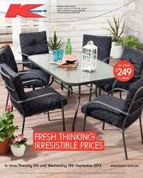 Low Price Patio Furniture - kmart outdoor furniture catalogue kmart patio furn organicoyenforma