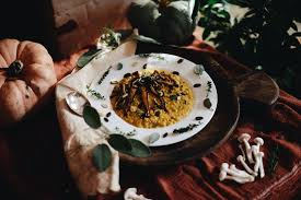 Thanksgiving Recipes Carrots Pumpkin Sweet Brown Risotto With Maple Glazed Carrots U0026 Wild