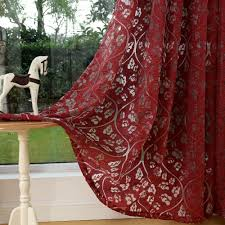 online get cheap red window treatment aliexpress com alibaba group