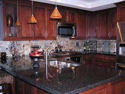 Light Cherry Kitchen Cabinets Cherry Cabinet With Granite Cherry Kitchens With Granite Images